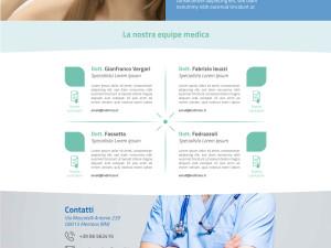 Odontomedica Mentana Website layout