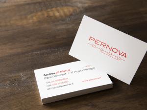 Pernova Logo and Business card