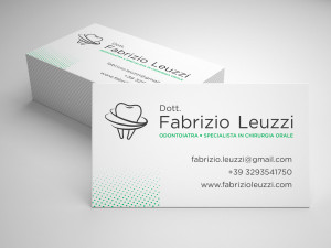 Fabrizio Leuzzi Logo and Business Card