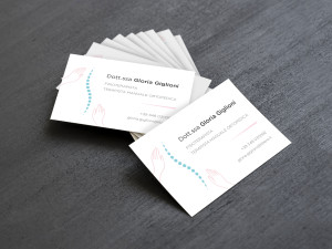 Gloria Giglioni Logo and Business Card